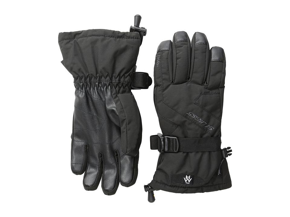 Seirus Heatwave Soundtouch Jr Ripper Glove (Black) Extreme Cold Weather Gloves