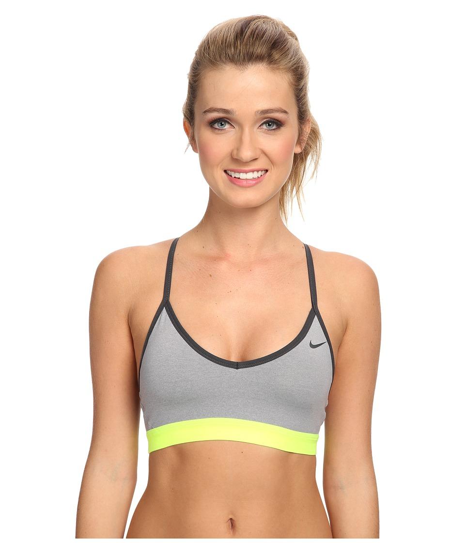 f24163f7fe ... Women s Light Support Sports Training Bra Heather Gray 620273 UPC  886060564542 product image for Nike - Pro Indy Bra (Dark Grey  Heather Anthracite ...