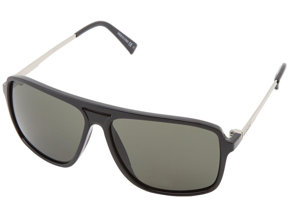 VonZipper Hotwax Black/Vintage Grey Sport Sunglasses