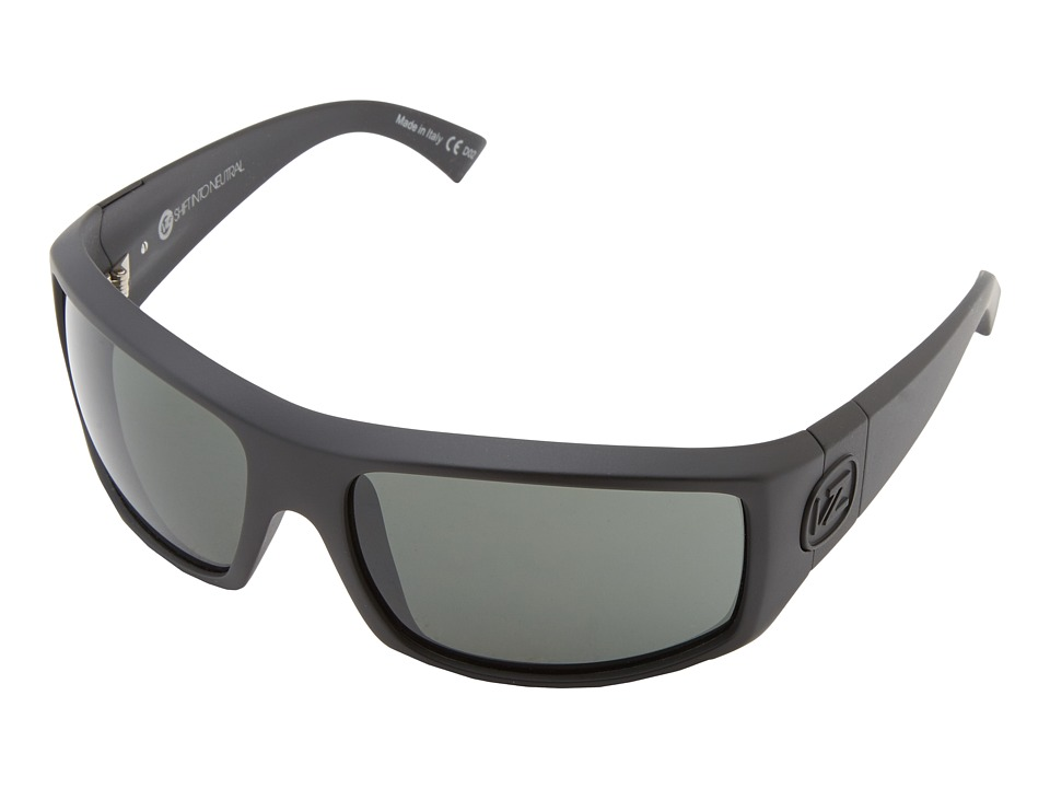 VonZipper - Clutch (SIN Black Satin/Grey) Sport Sunglasses