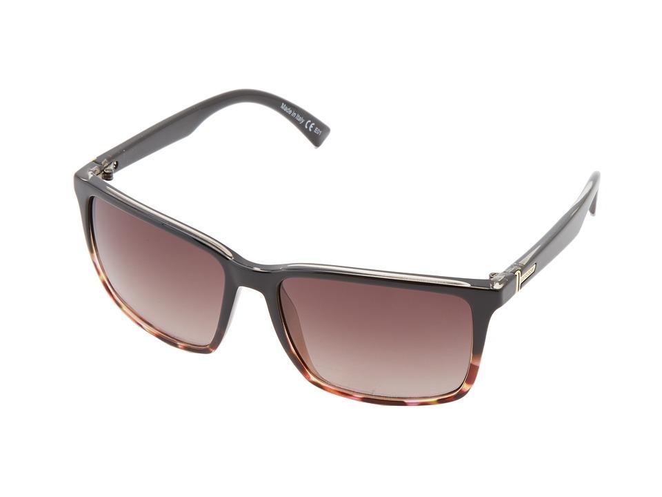 VonZipper Lesmore Brown Fade Rasberry/Gradient Sport Sunglasses