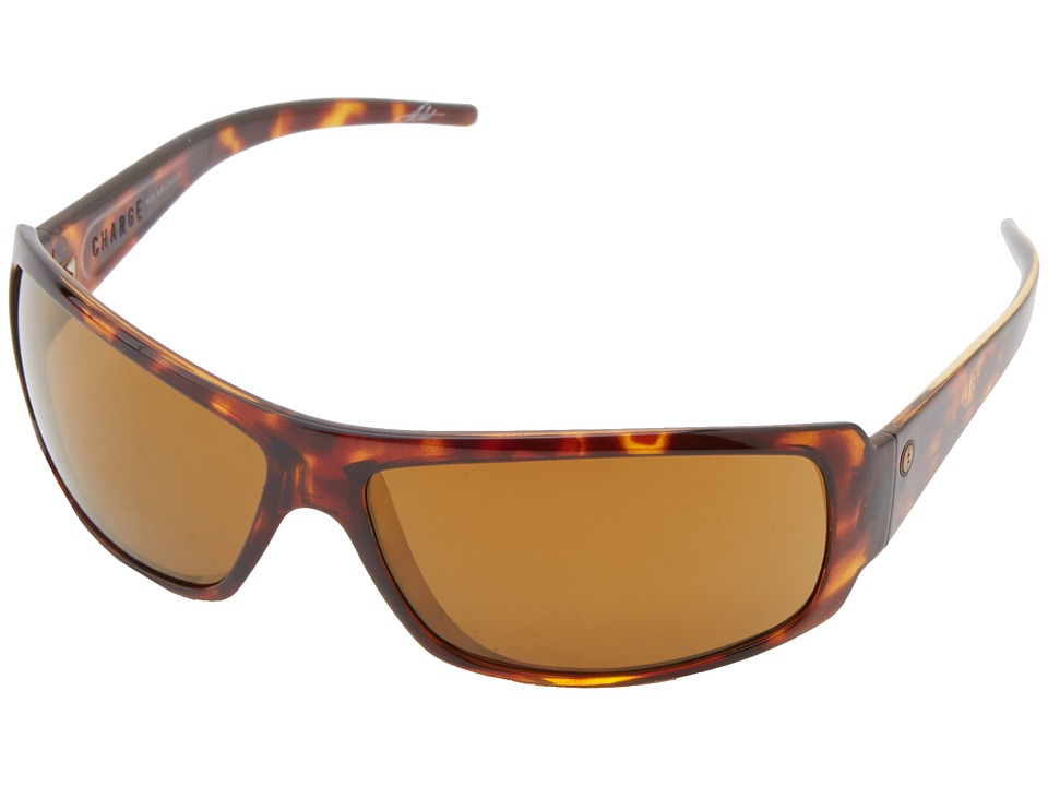 Electric Eyewear - Charge Polarized (Tortoise Shell/M2 Broze Polar) Sport Sunglasses