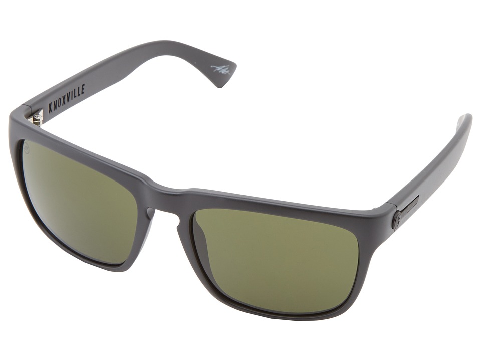 Electric Eyewear Knoxville Polarized (Matte Black/M Grey) Sport Sunglasses