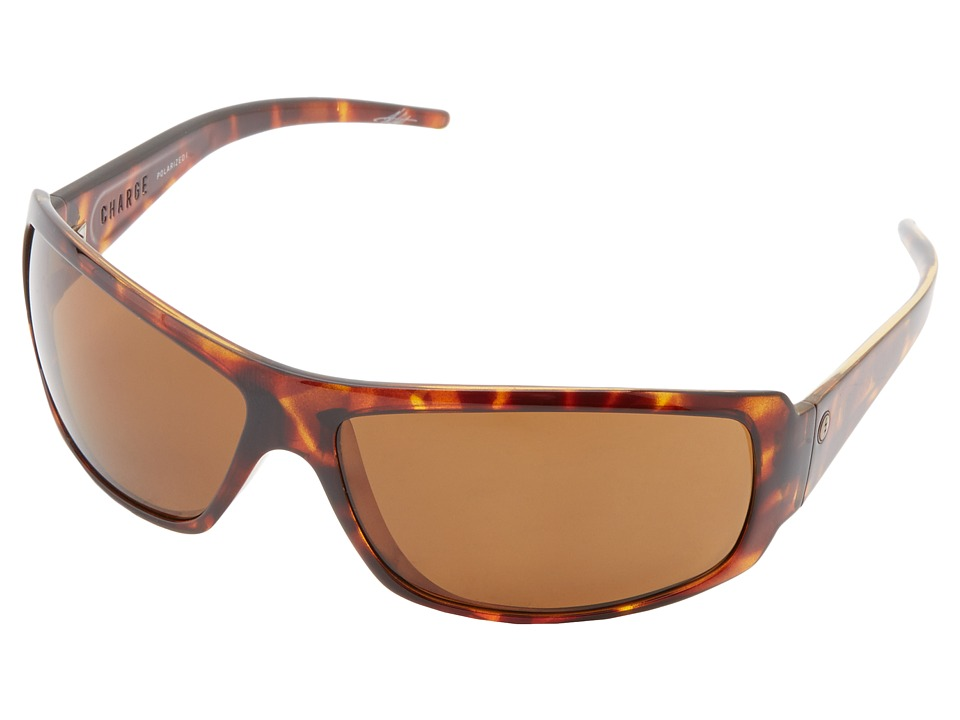 Electric Eyewear - Charge Polarized (Tortoise Shell/M1 Bronze Polar) Sport Sunglasses