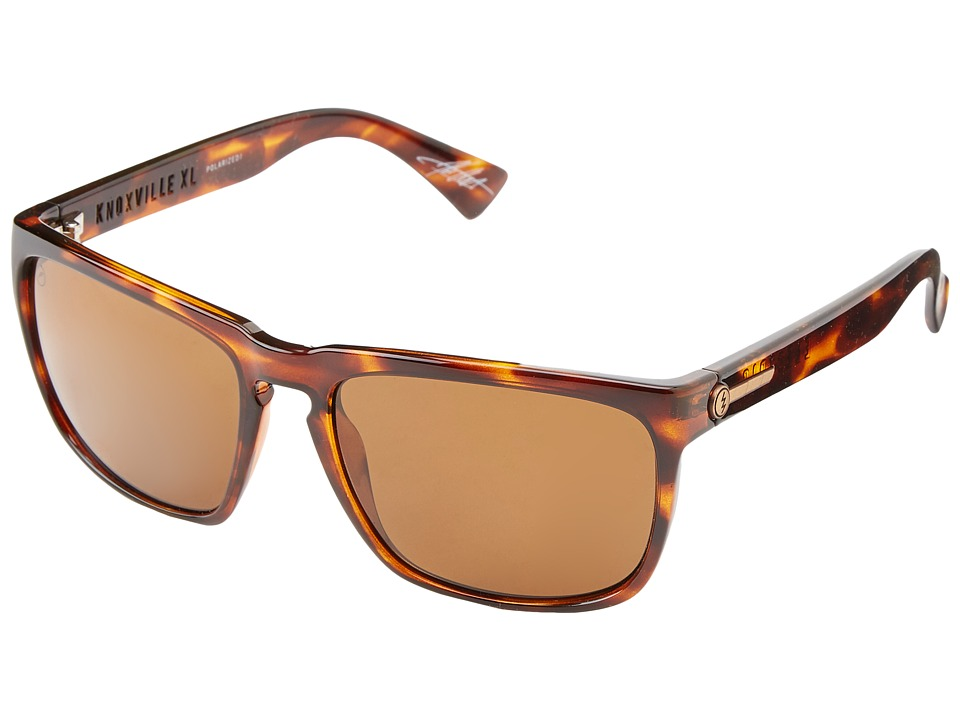 Electric Eyewear - Knoxville XL Polarized (Tortoise Shell/M1 Bronze Polar) Sport Sunglasses