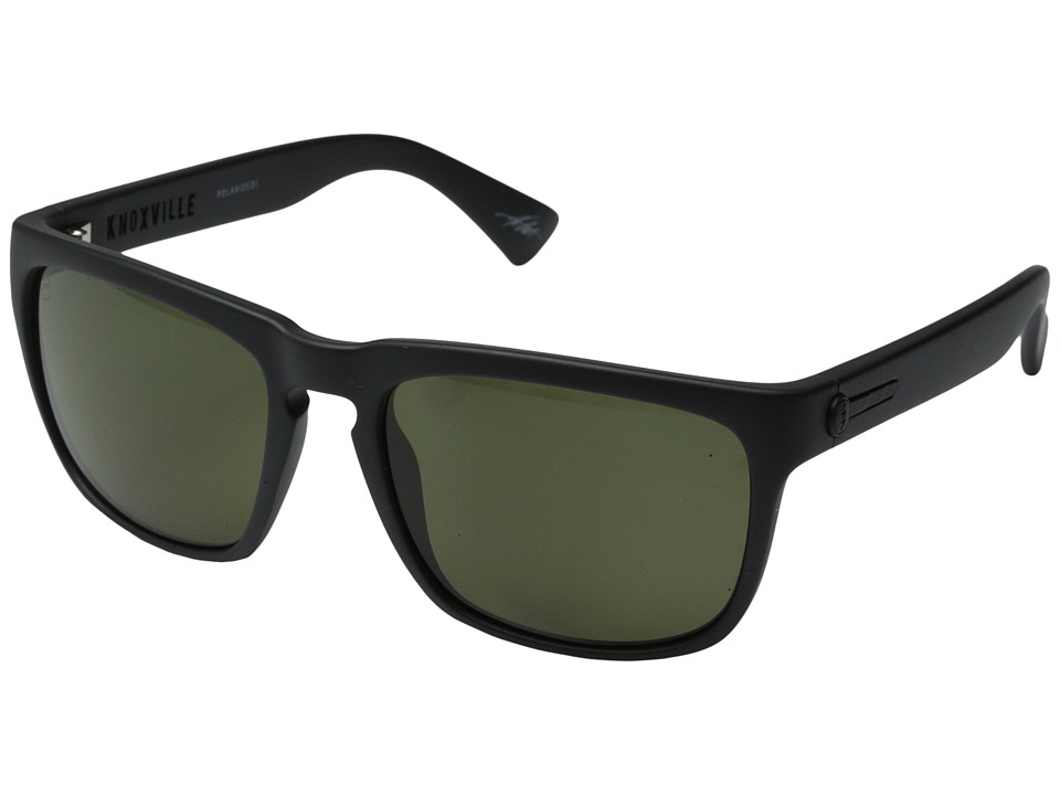 Electric Eyewear - Knoxville Polarized (Matte Black/M1 Grey Polar) Sport Sunglasses