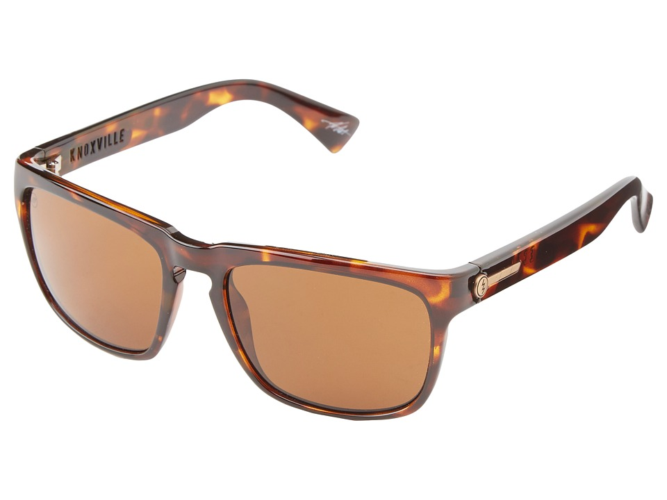 Electric Eyewear - Knoxville (Tortoise Shell/M Bronze) Fashion Sunglasses