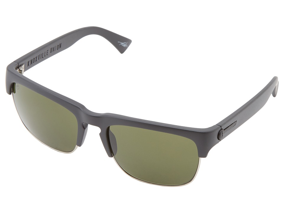Electric Eyewear - Knoxville Union (Matte Black/M Gry) Sport Sunglasses