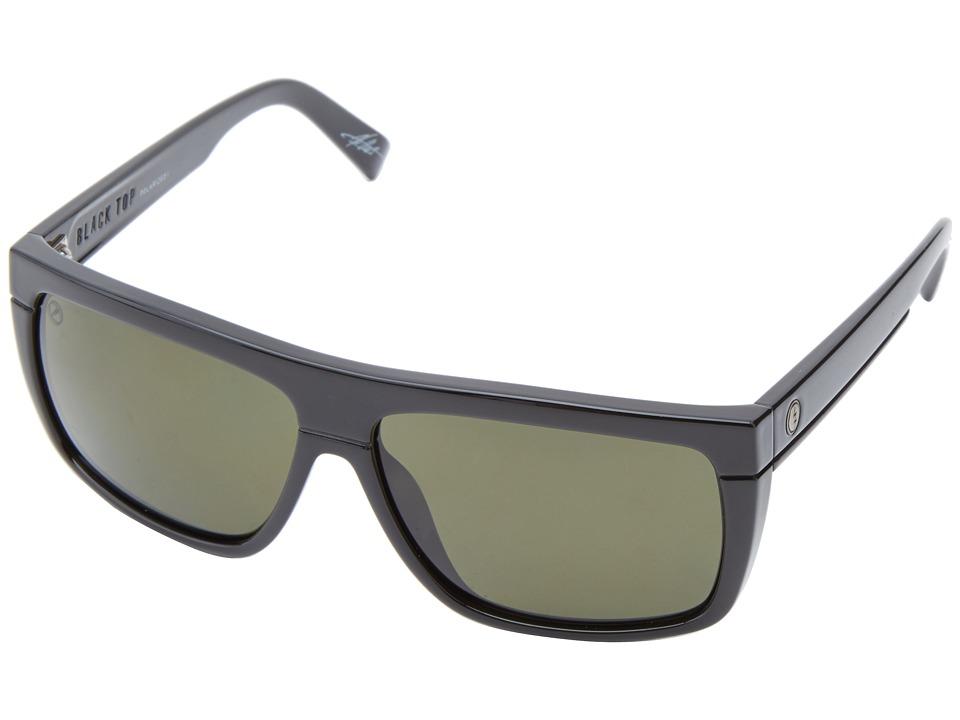 Electric Eyewear Black Top Gloss Black/M1 Grey Polarized Sport Sunglasses
