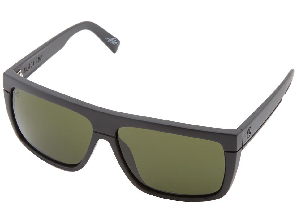 Electric Eyewear - Black Top (Matte Black/M Grey) Fashion Sunglasses