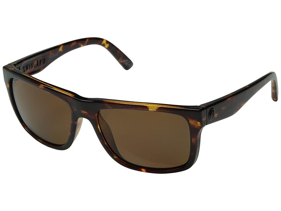Electric Eyewear Swingarm Polarized (Tortoise Shell/M1 Bronze Polar) Sport Sunglasses