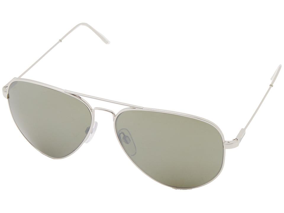 Electric Eyewear Av1 XL Platinum/M Grey Silver Chrome Fashion Sunglasses