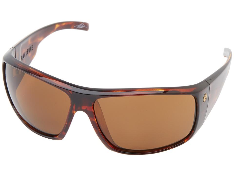 Electric Eyewear Backbone Tortoise Shell/M1 Broonze Polar Sport Sunglasses