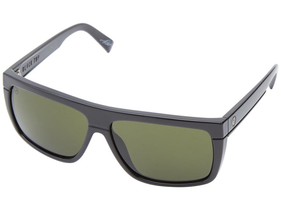 Electric Eyewear - Black Top (Gloss Black/M Grey) Sport Sunglasses