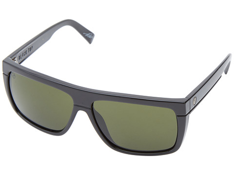 Electric Eyewear Black Top Polarized - Gloss Black/M Grey