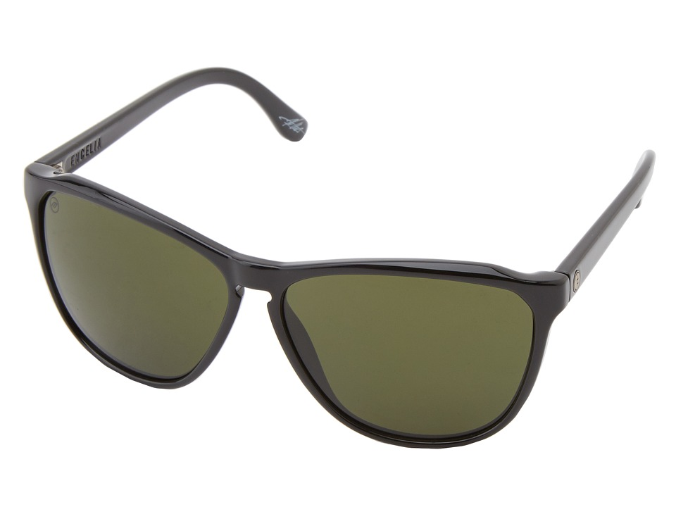 Electric Eyewear - Encelia (Gloss Black/M Grey) Sport Sunglasses