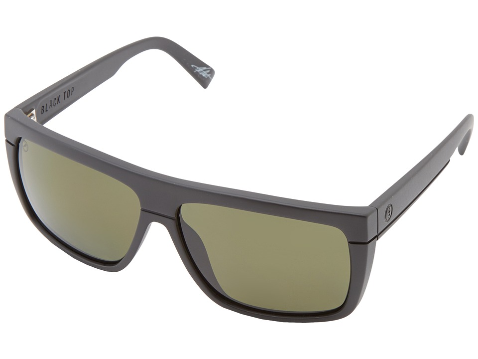 Electric Eyewear - Black Top Polarized (Matte Black/M1 Grey Polar) Sport Sunglasses