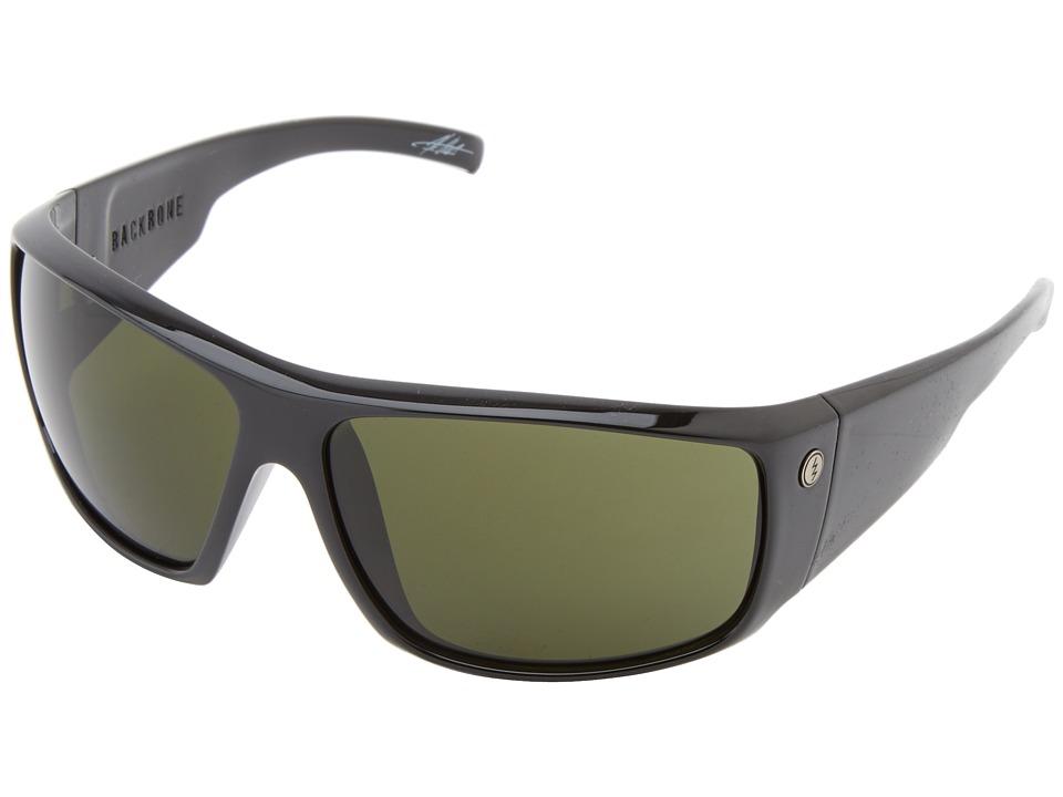Electric Eyewear Backbone Gloss Black/M Grey Sport Sunglasses