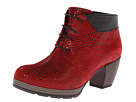 Wolky - Jacquerie (Red Dessin Suede) - Footwear