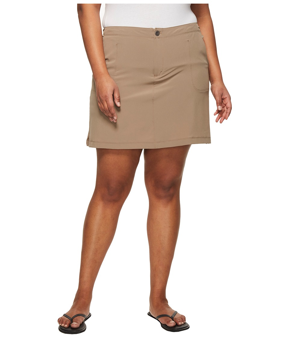White Sierra - Plus Size West Loop Trail Skort (Bark) Womens Skort
