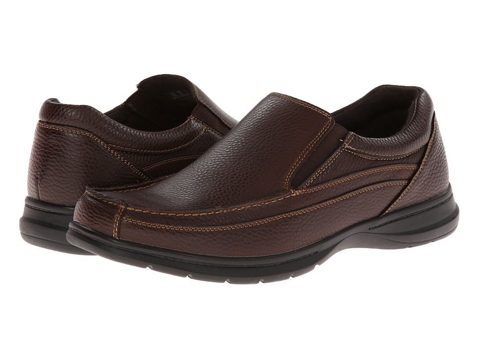 Dr. Scholls Bounce Bridal Brown Mens Slip on Shoes