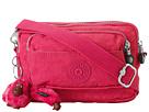 Kipling Multiple Belt Crossbody Bag (Vibrant Pink)