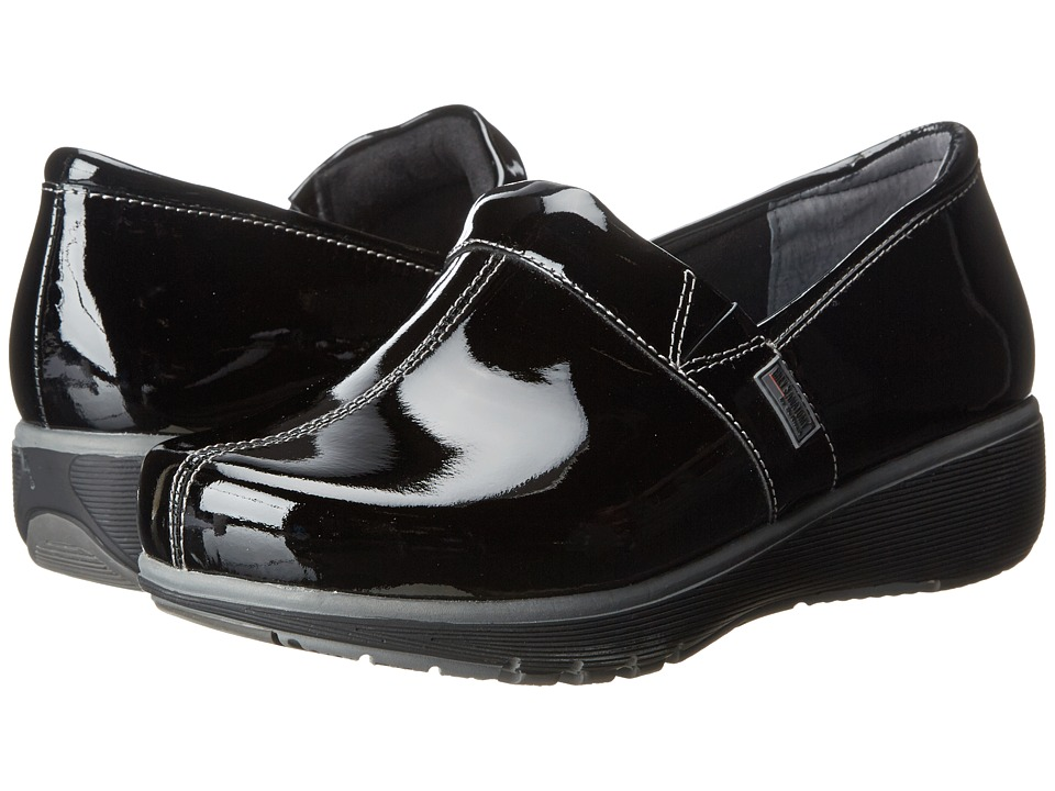 SoftWalk Meredith Black Patent Leather Womens Slip on Shoes