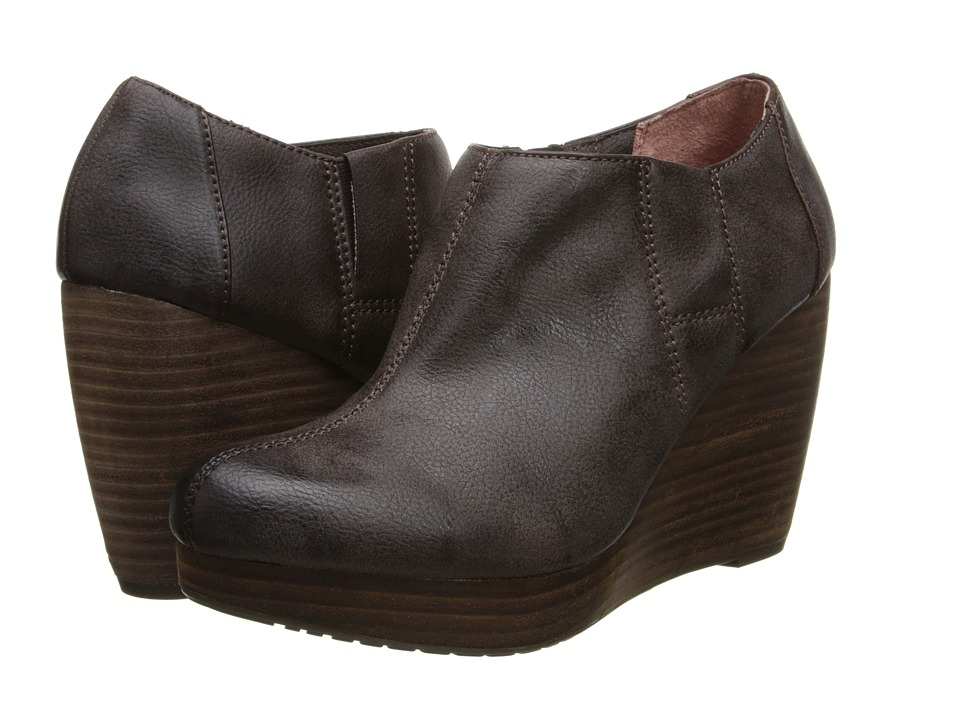 Dr. Scholls Harlie Dark Brown Womens Pull on Boots