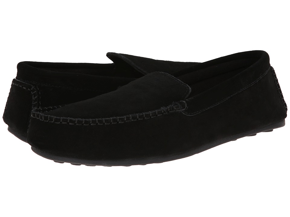 L.B. Evans Darren Black Mens Slippers