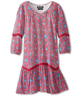 Lucky Brand Kids - Diamond Dress w/ Lace (Big Kids)