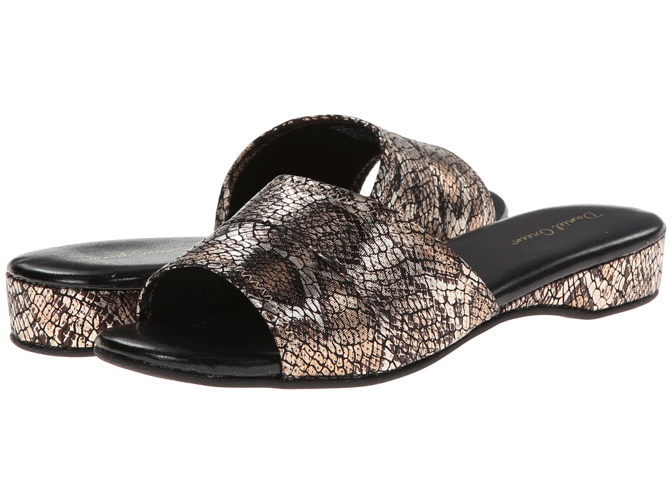 Daniel Green Dormie (Gold Snake) Slippers