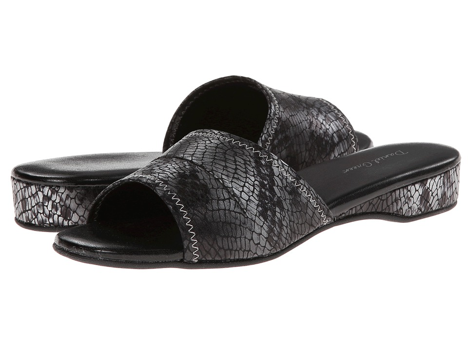 Daniel Green Dormie (Grey Snake) Slippers