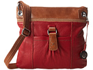 The Sak Kendra Leather Crossbody (Cherry Block)