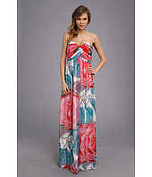 Donna Morgan - Laura Long Printed Chiffon Gown