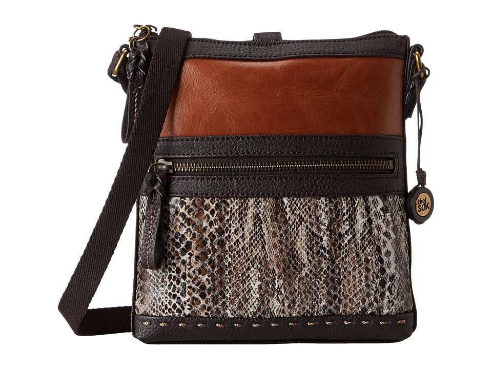 The Sak - Pax Swing Pack (Brown Snake Multi) Cross Body Handbags