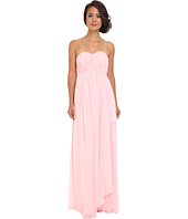 Donna Morgan - Lily Long Gown w/ Cascade Front