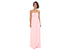 Donna Morgan - Lily Long Gown w/ Cascade Front (Blush)
