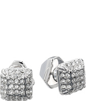 Vince Camuto - Haute Hex Crystal Two Part Stud Earrings