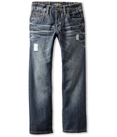 Lucky Brand Kids - Beach Billy Straight Rip & Repair Jean (Big Kids)