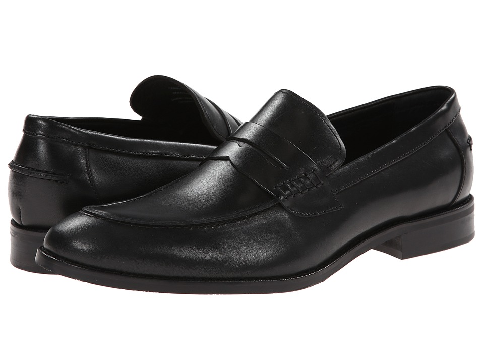 Gordon Rush - Conway (Black) Mens Slip on  Shoes