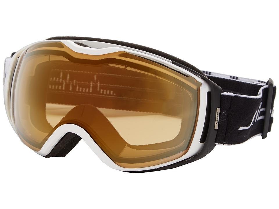 Julbo Eyewear Universe Goggle White/Black Zebra Lens Snow Goggles