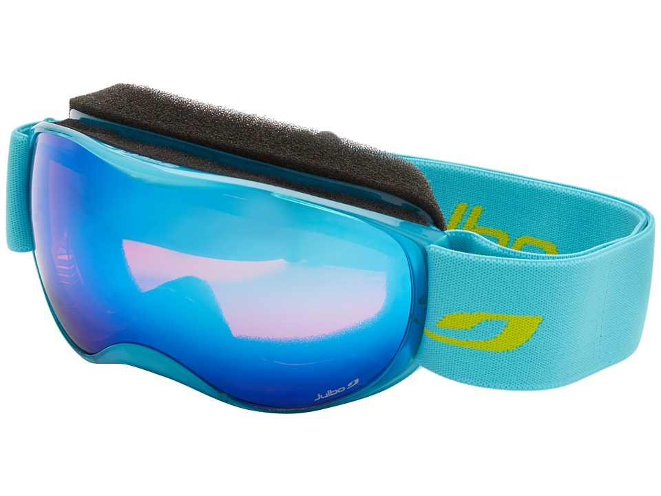 Julbo Eyewear Atmo Goggle Kids Light Blue Trans Orange Lens Snow Goggles