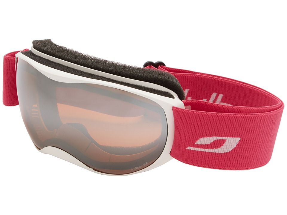 Julbo Eyewear Atmo Goggle Kids White/Fuchsia Orange Lens Snow Goggles