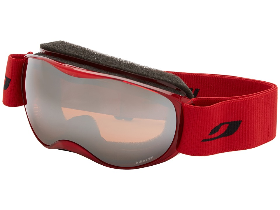 Julbo Eyewear Atmo Goggle Kids Red Trans Orange Lens Snow Goggles