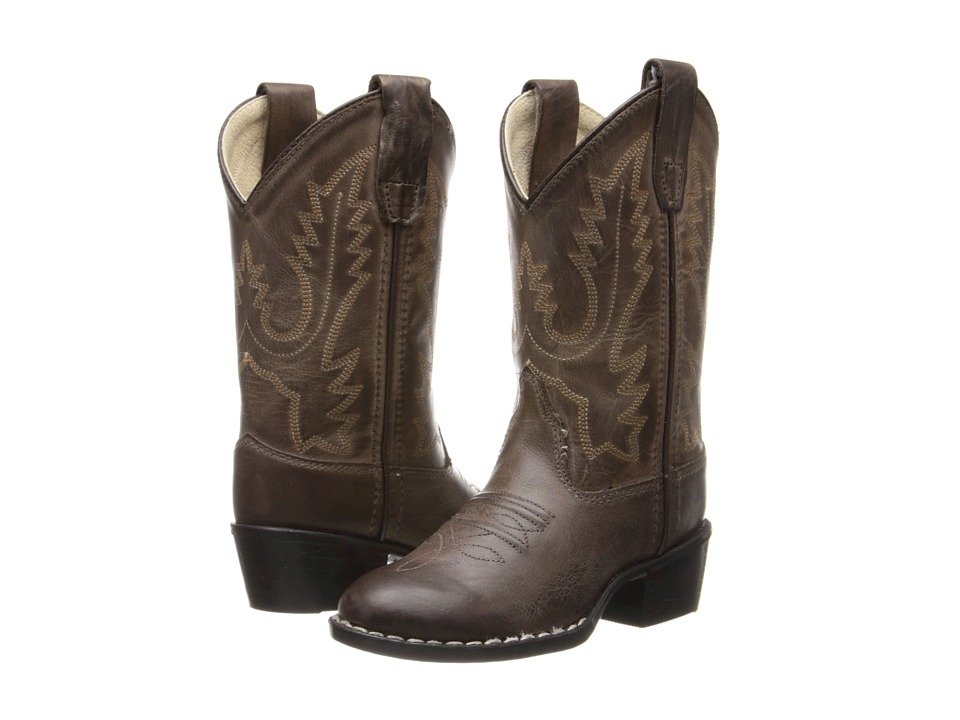 Old West Kids Boots Western Boots Toddler/Little Kid Brown Canyon Cowboy Boots
