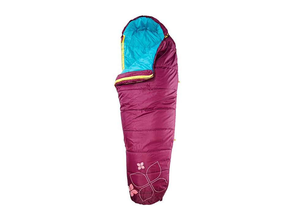 Kelty - Little Flower 20 Degree Sleeping Bag - Short Right-Hand (Purple Potion) Outdoor Sports Equipment