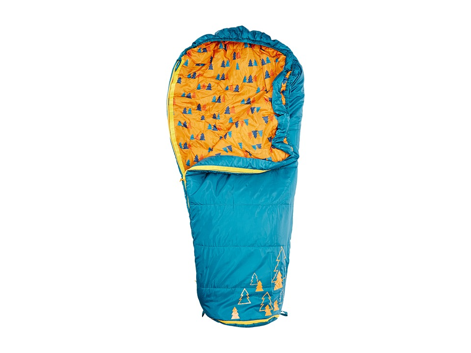 Kelty Big Dipper 30 Degree Sleeping Bag Short Right Hand Ocean Outdoor Sports Equipment