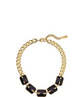 Vince Camuto - Colored Black Frontal Necklace