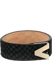 Vince Camuto - Leather V Lock Bracelet