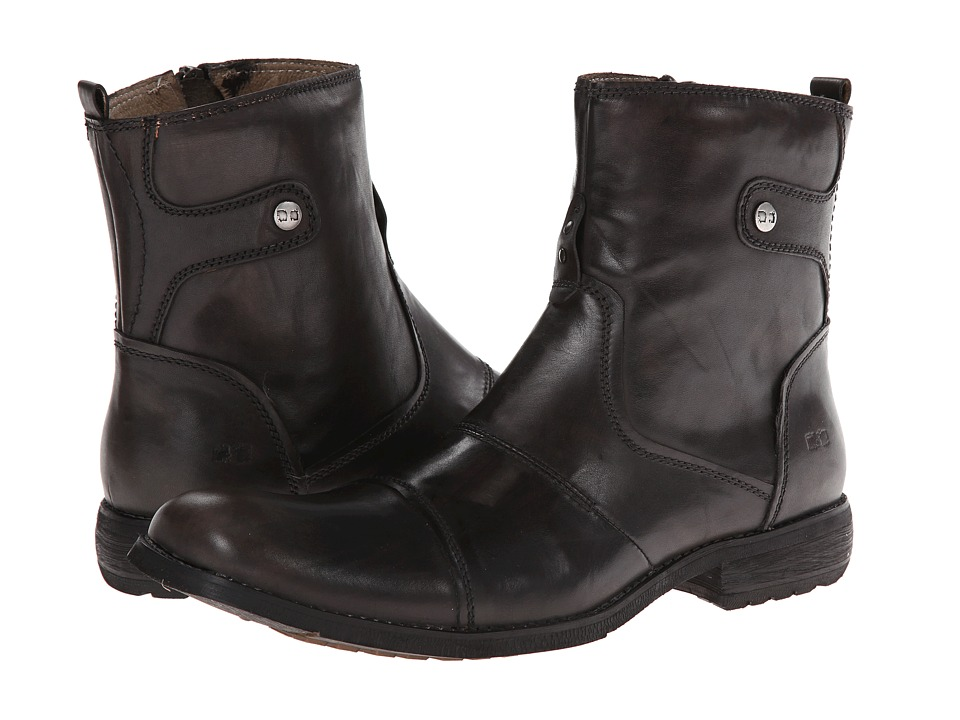 Bed Stu Burst Black Hand Mens Boots